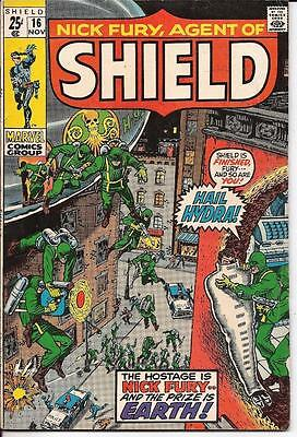 Marvel Nick Fury Agent Of Shield #16 Hail Hydra Find Fury Or Die Prize Is Earth