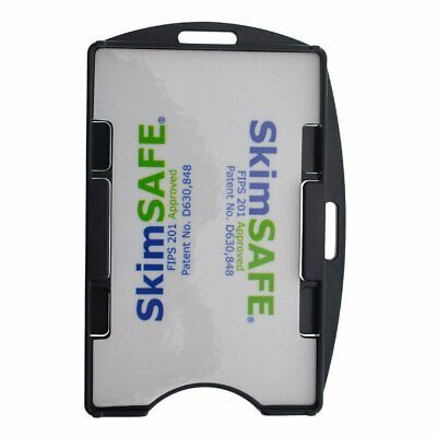 SkimSAFE RFID Blocking 2-Card ID Badge Holder for 13.56MHz Access Cards