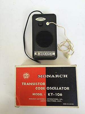 Vintage Monarch Code Oscillator Model Ky-106