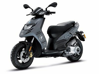 Piaggio Typhoon 50 & 125 Scooter Workshop Service Repair & Parts Manual