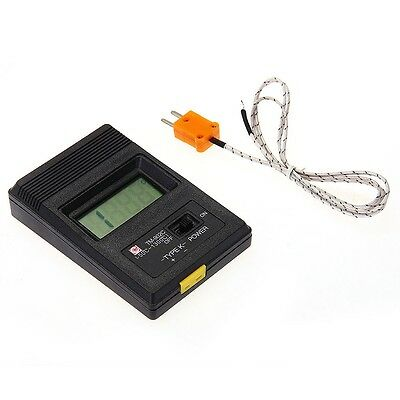 TM-902C Digital K Type LCD Thermometer Thermodetector Meter + Thermocouple Probe