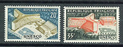 s9585) FRANCE MNH** 1958, New UNESCO building 2v