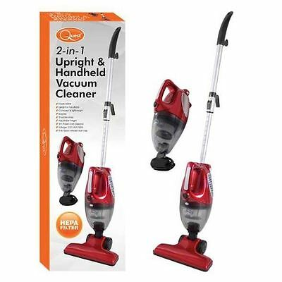 800W 2 In 1 Upright Hand Held Vacuum Cleaner Bagless Compact Lightweight Hoover