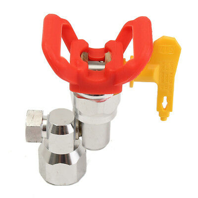 7/8''F-7/8''M Swivel Joint Sprayer Base Guard With 517 Tip For Airless Spray Gun