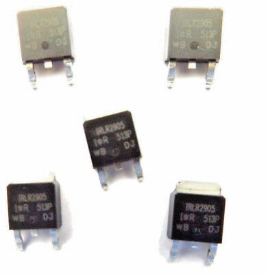 IRLR2905PBF Marked IRLR2905 Trans MOSFET N-CH 55V 42A 3-Pin DPAK x5pcs