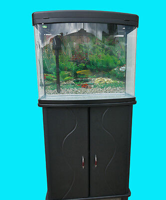 NEW 58cm Fish Tank 75L with LED Light + Large Top Filter