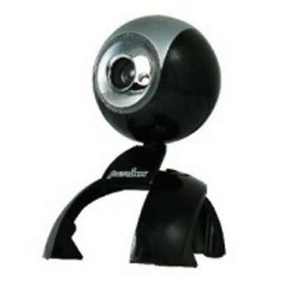 Webcam with Microphone Digital Zoom Snapshot Button Pericam-102 - Black