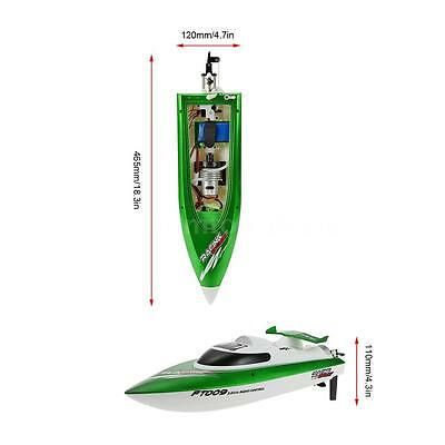 Original Feilun FT009 2.4G 30km/h High Speed RC Racing Boat w/Water Cooling J9M5