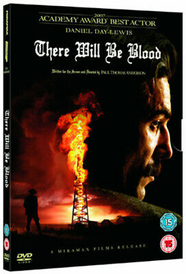 There Will Be Blood DVD (2008) Daniel Day-Lewis, Anderson (DIR) cert 15