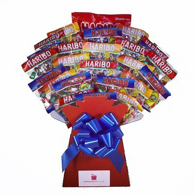 Kids Haribo Bouquet - Sweet Hamper Tree Explosion - Perfect Gift