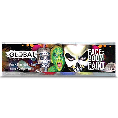 Stater Pack Global Face & Body Paint Set