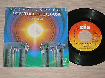 """Earth, Wind & Fire - After The Love Has Gone / Rock That! - 45 Giri 7"""" Holland"""