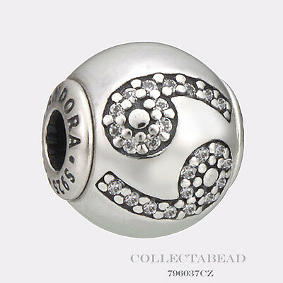 Authentic Pandora Essence Collection Silver Cancer Bead 796037CZ *SPECIAL!!!