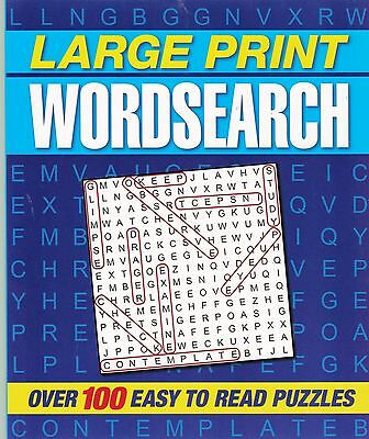 Large Print Wordsearch 112 Puzzles - New Book