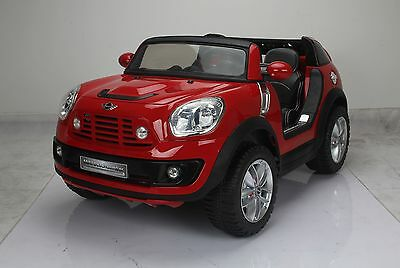 Mini Beachcomber 12V Battery Ride on Car - 2 Seater, Leather & Showroom painted!