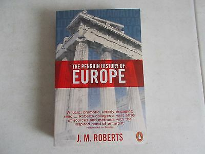 @ The Penguin History of Europe by J.M. Roberts Paperback Book (English) Free