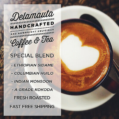 Delamauta Fresh Roasted Coffee Special Blend Whole Beans 250g, 500g, 1kg, 5kg • AUD 14.95