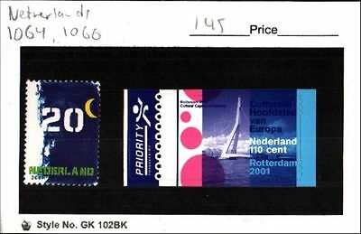Netherlands Stamp Lot Scott 1064, 1066 MNH Low Combined Shipping