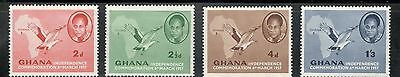 Ghana scott 1 to 4 MNH Low Combined Shipping