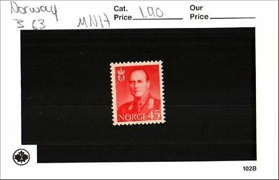 Norway Stamp Lot Scott 363 MNH Low Combined Shipping