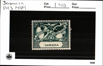 Jamaica Stamp Set Scott 143 MNH Low Combined Shipping
