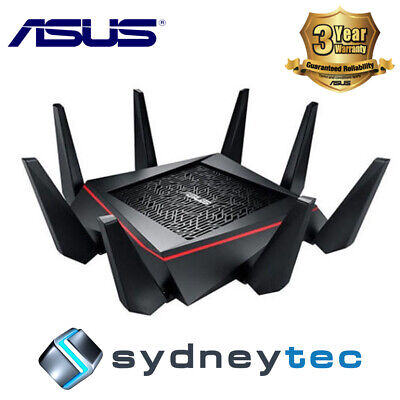New ASUS RT-AC5300 Wireless AC5300 Tri-Band Gigabit Router
