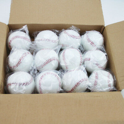 50X 9in Soft Baseball Training Practice Softball Elastic PVC Bubber 110g