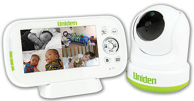 Uniden Bw3451R Wireless Digital Baby Monitor Pan & Tilt/remote View Night Vision