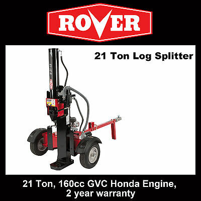 Rover 21 Ton Log Splitter.  Ready to go assembled with hyrdaulic oil. SAVE $584