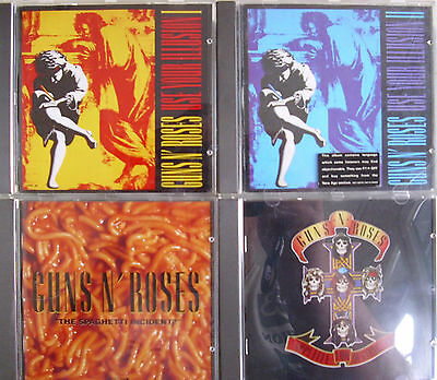 Guns ´n´ Roses- Use your Illusion I & II/ Appetite../ Spaghetti..- 4 CDs WIE NEU