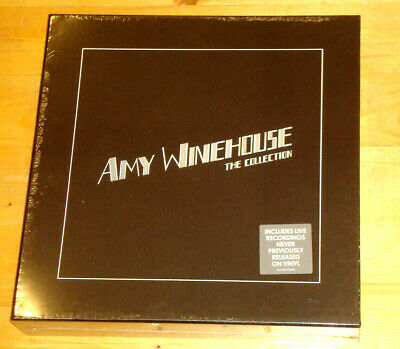AMY WINEHOUSE The Collection ISLAND 8 LP BOX Limited Numbered Edition NEW SEALED