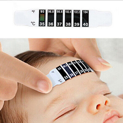 Easy to Use 10PCS Baby Thermometer Reusable Forehead Care Health Monitors