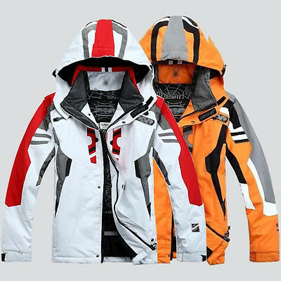Men's Winter warm ski suit Jacket Waterproof Coat snowboard Clothing Snowsuits