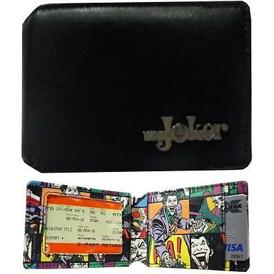The Joker - Mini Travel Card RFID Protection Wallet - New & Official DC Comics