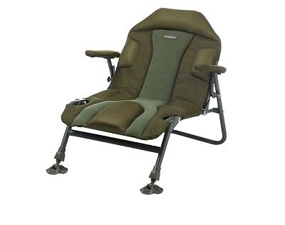 Trakker Levelite Padded Green Compact Chair NEW - 217603