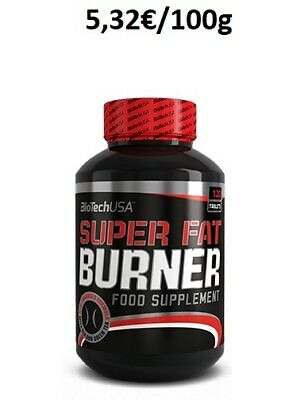 BioTech USA Super Fat Burner - 120 Tabletten
