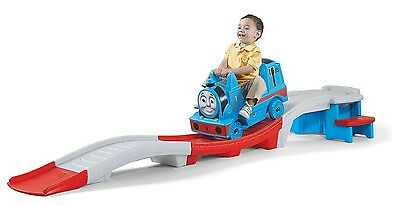 Thomas The Tank Engine Up And Down Roller Coaster Adult Riding Track - New