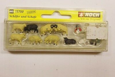 NOCH 15750 HO Gauge Animals Sheep Painted Figures Trackside Props Accessories