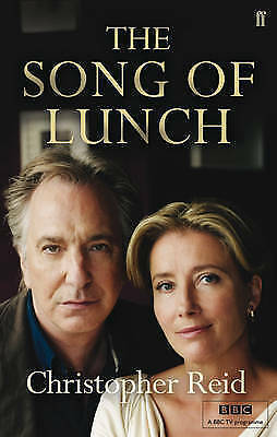 The Song of Lunch by Christopher Reid (Paperback) New Book
