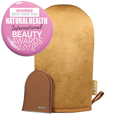 NYK1 LUXURY Tanning Mitt MegaMitt (Brown) Fake Tan Applicator Glove