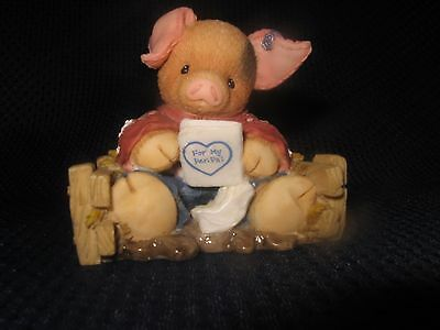 This Little Piggy Enesco 1996 Pen Pals Figurine
