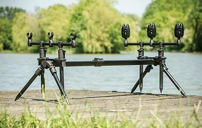 Leeda Rogue NEW Carp Fishing 3-in-1 Green Rod Pod - X7000