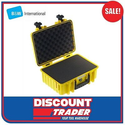 B&W International Heavy Duty Outdoor Safety Case Yellow Type 4000 - 4000YSI