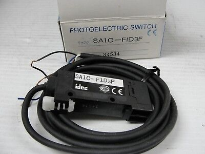 New Idec Photo Electric Sensor, SA1C-F1D3F