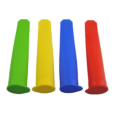 5X(Silicone Ice Pop Makers Set of 4 DW