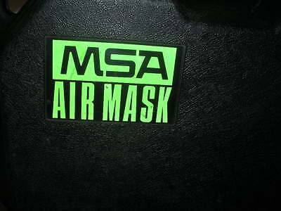 MSA UltraLite II 2 Air Mask SCBA demand breathing rescue PASS tank mount harness