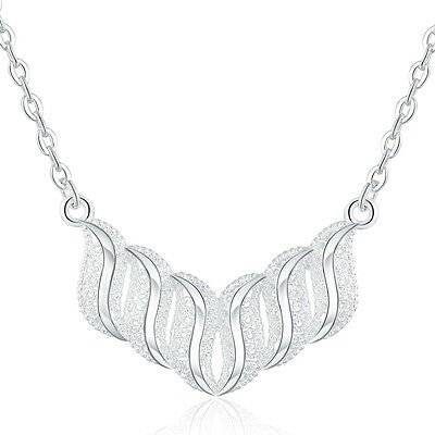 NICE silver 925 cute lady wedding Party Fashion charms women Necklace Jewelry