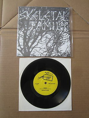 "SKELETAL FAMILY Trees / Just A Friend 7"" RARE 1983 ORIGINAL DIY UK 1ST PRESSING"