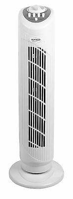 """New Tower Fan 29"""" Free Standing 3-Speed Oscillating Cooling For Home Office"""
