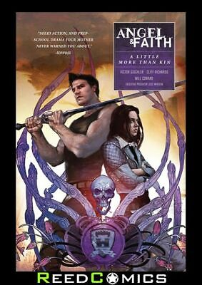 ANGEL and FAITH SEASON 10 VOLUME 4 LITTLE MORE THAN KIN GRAPHIC NOVEL Paperback